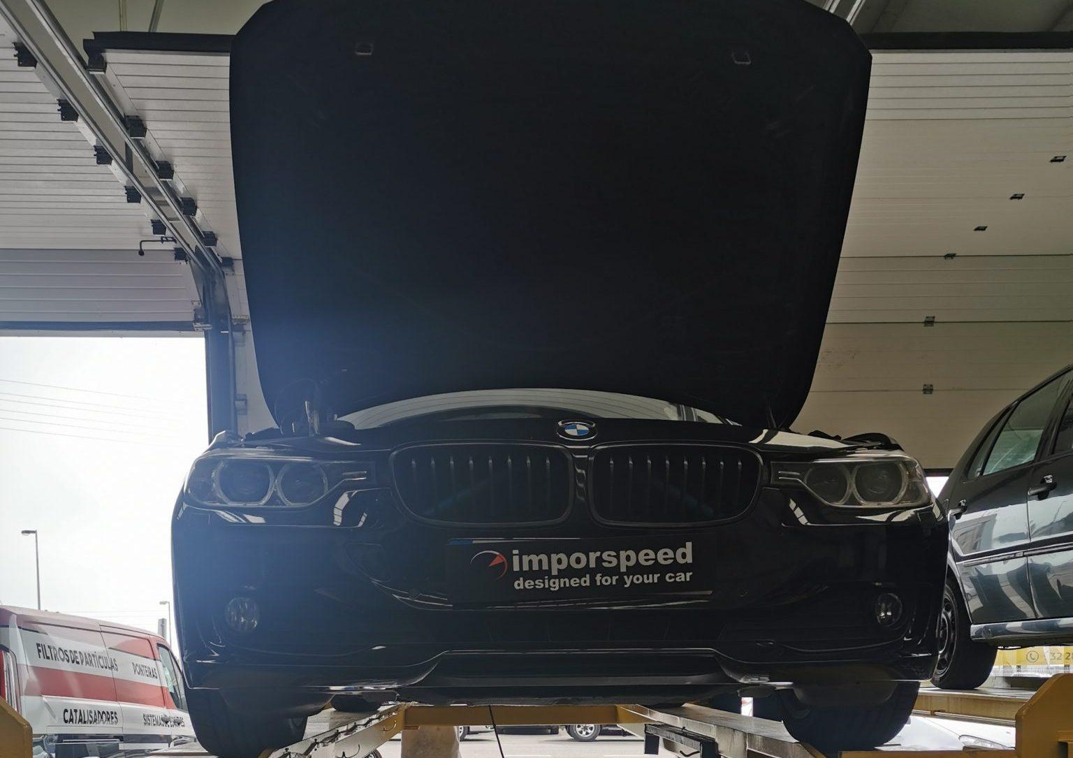APLICAÇÃO DE PONTEIRA IMPORSPEED EM BMW 320D