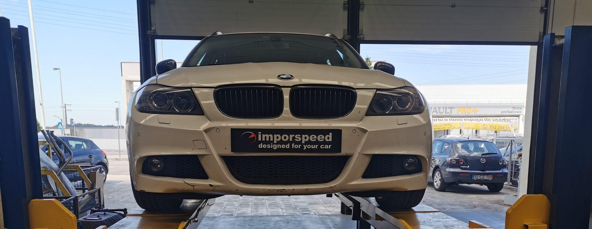 APLICAÇÃO DE LINHA DUPLA EM BMW 320D