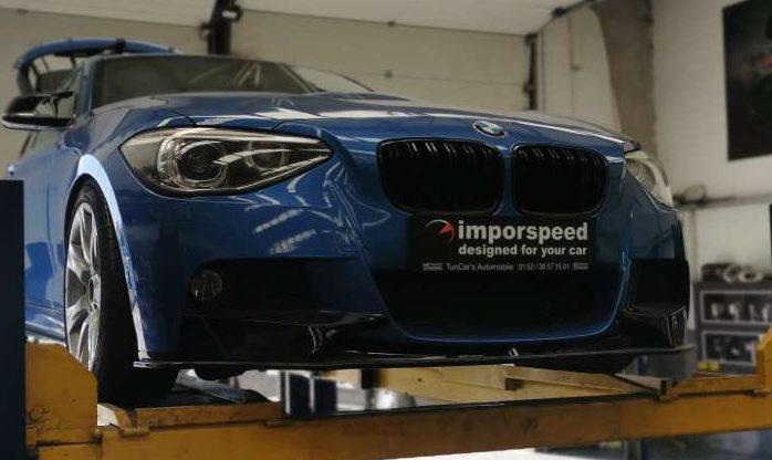 APLICAÇÃO DE LINHA INOX EM BMW 125i